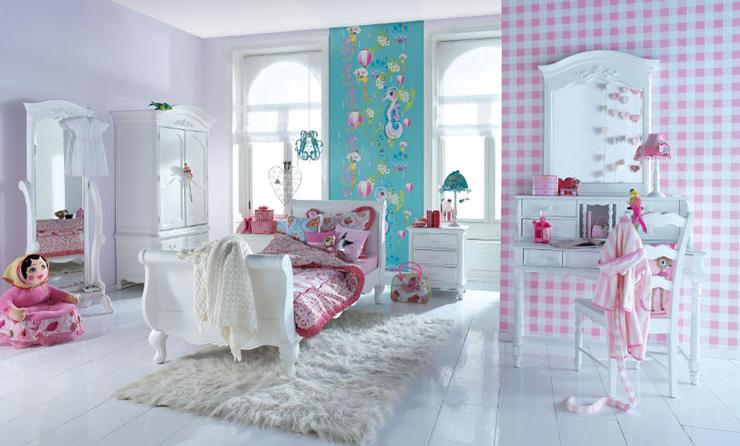 свежа момичешка стая