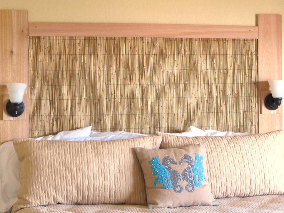 табла за легло от естествени материали