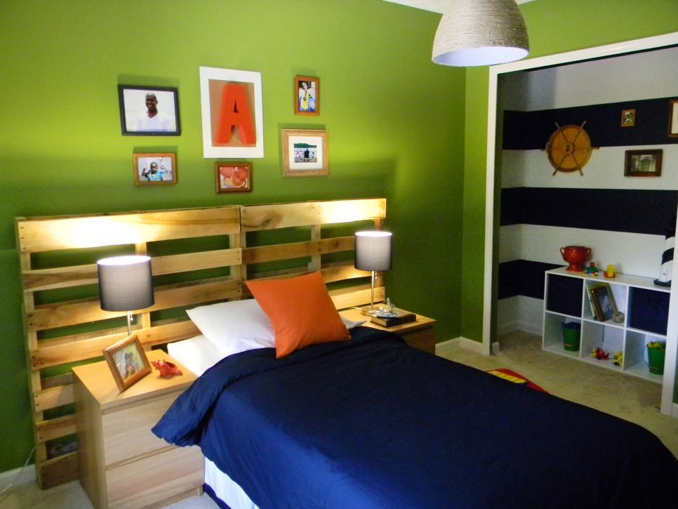 табла за легло от палети