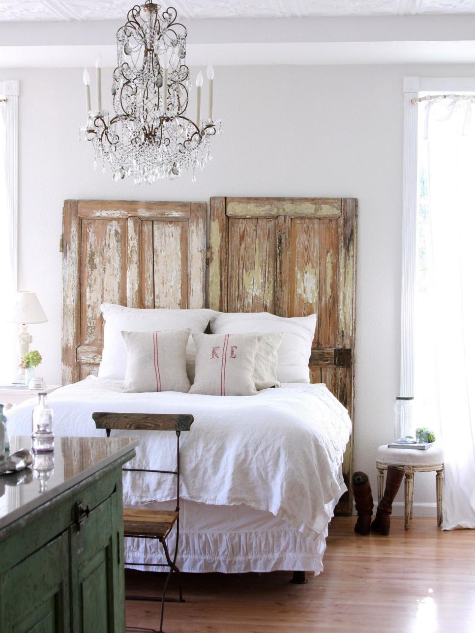 табла за легло от врати