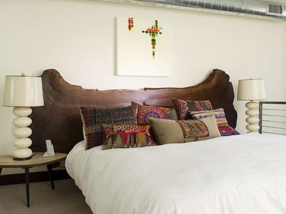 табла за легло от дърво