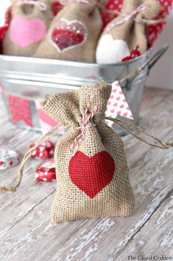 торбички за Свети Валентин