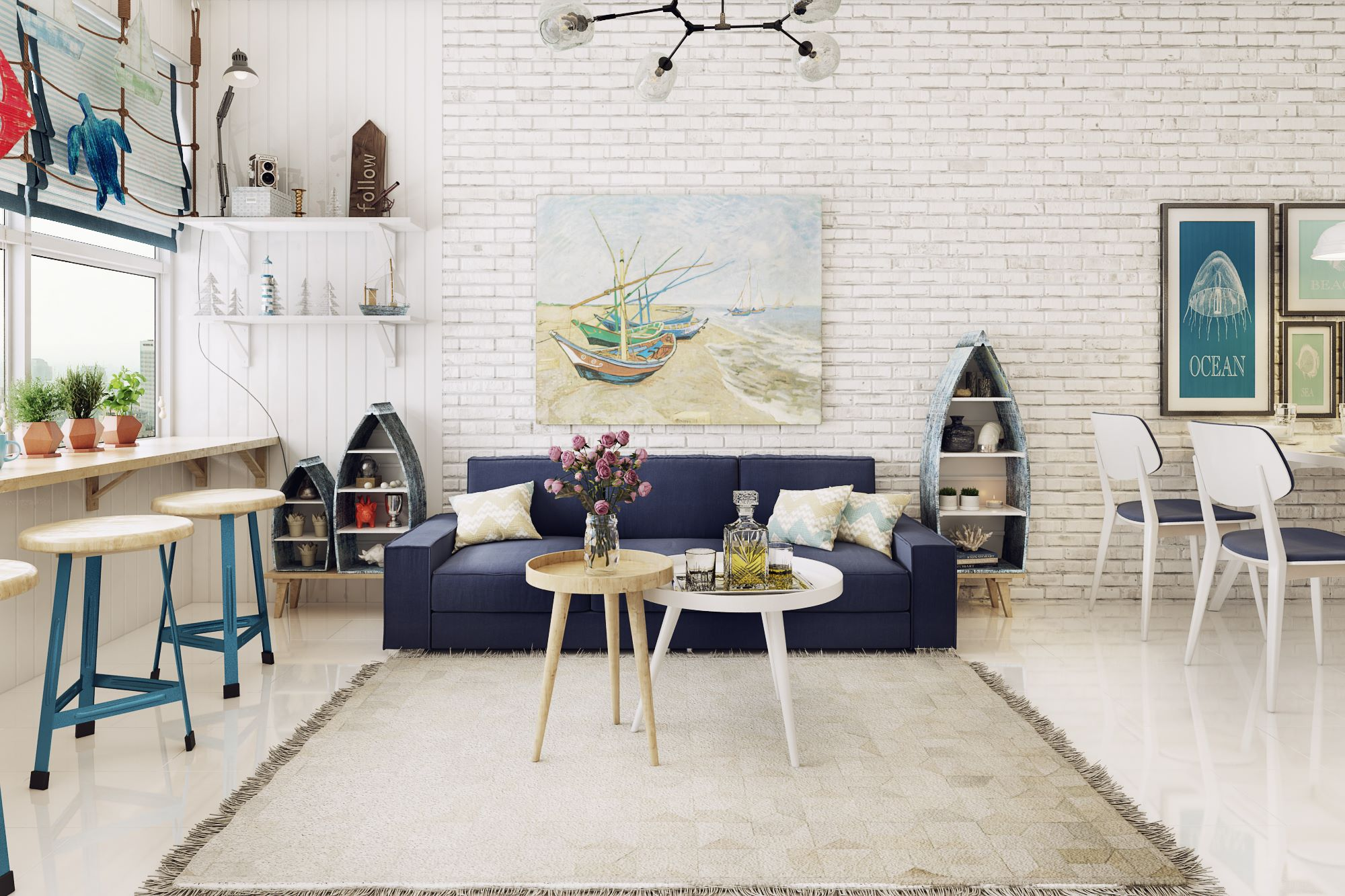 апартамент в скандинавски стил 3