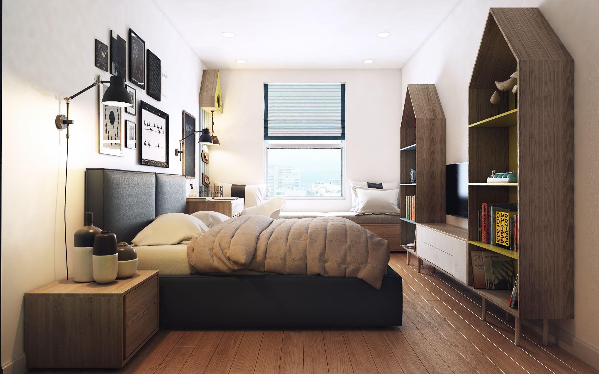 апартамент в скандинавски стил 8