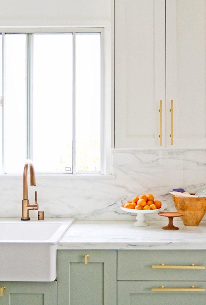 бяло златисто в кухнята