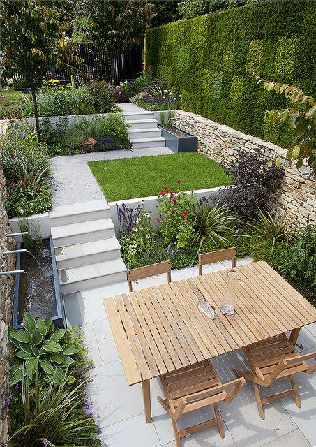 Градина на нива