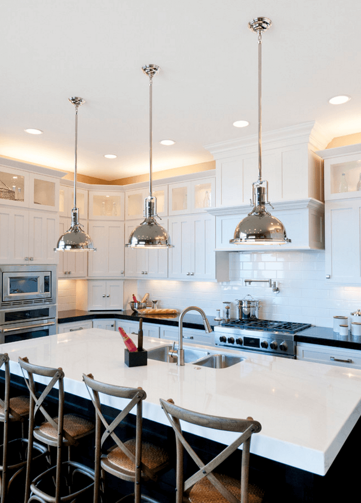 осветление в кухнята 1