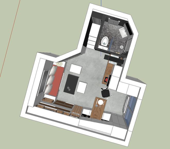 проект на малък апартамент