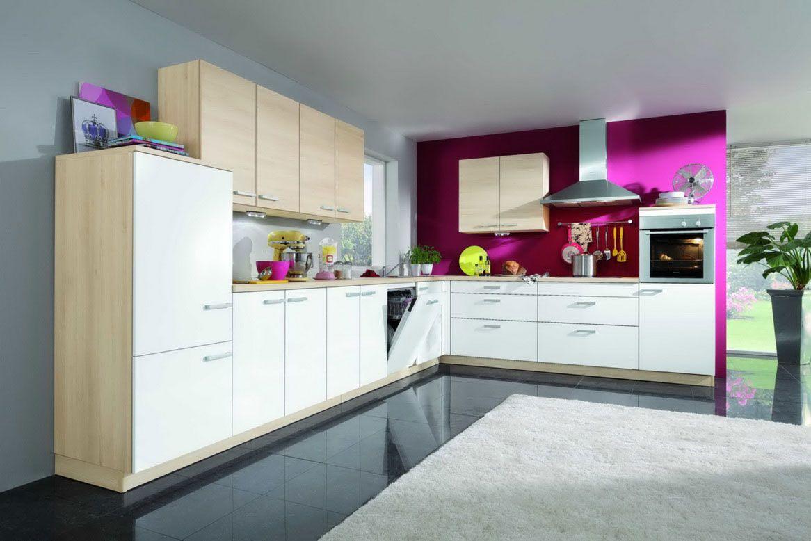 съвременна цветна кухня