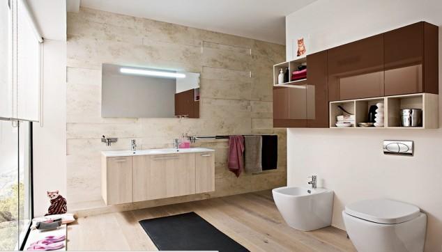светла модерна баня