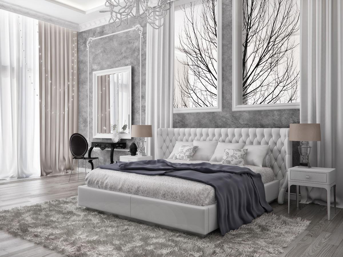 модерен апартамент в сиво