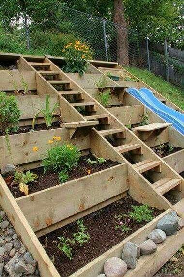 етажиране на градината