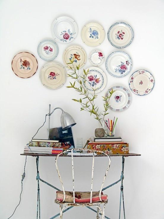 декориране с чинии