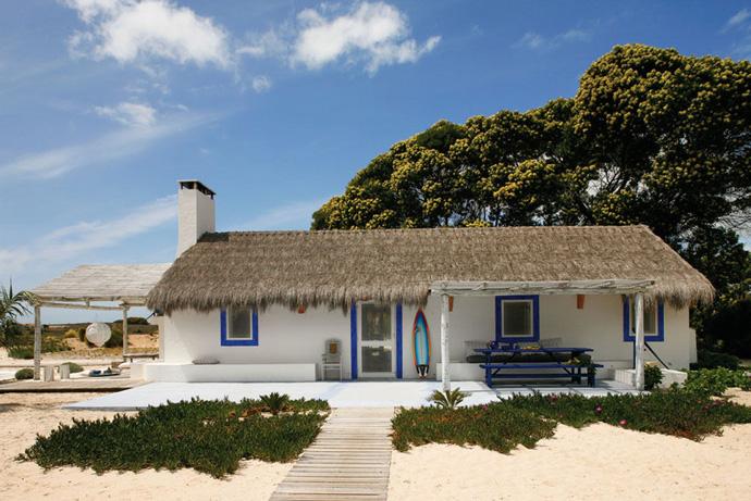 къща на плажа