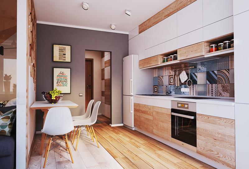 красив малък апартамент