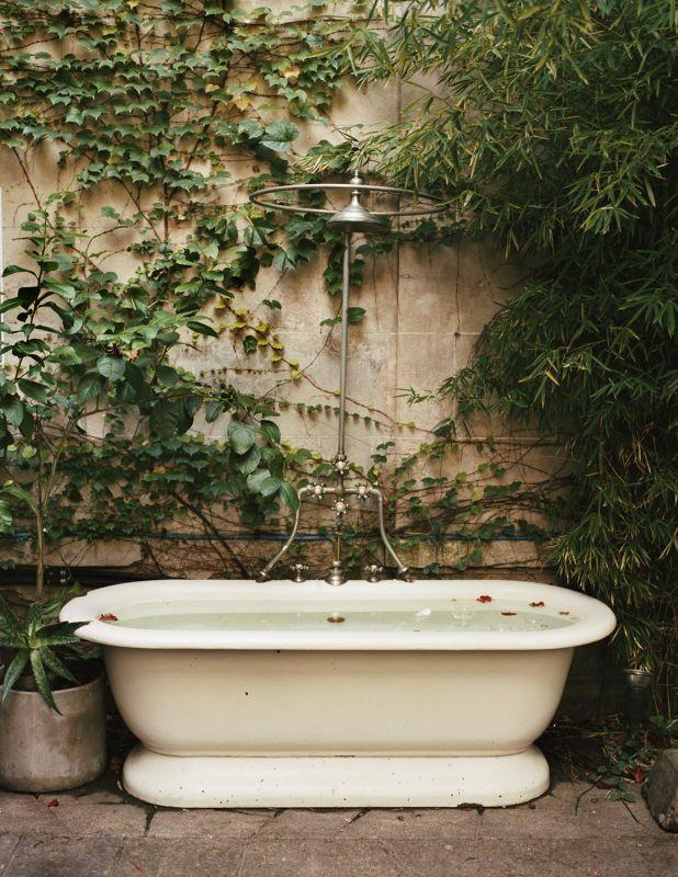 бани на открито