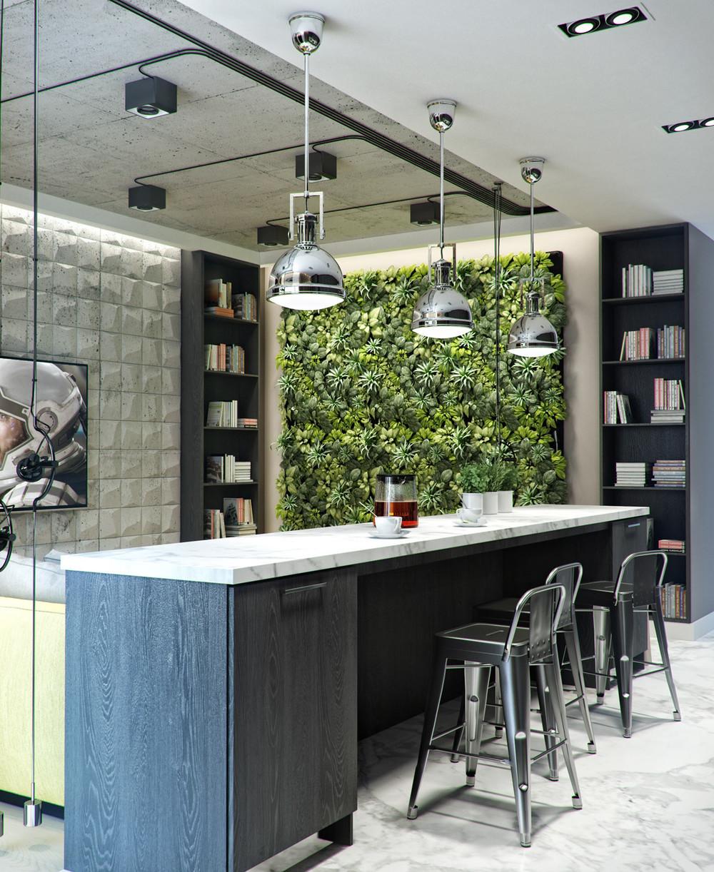 kitchen-vertical-garden-wall