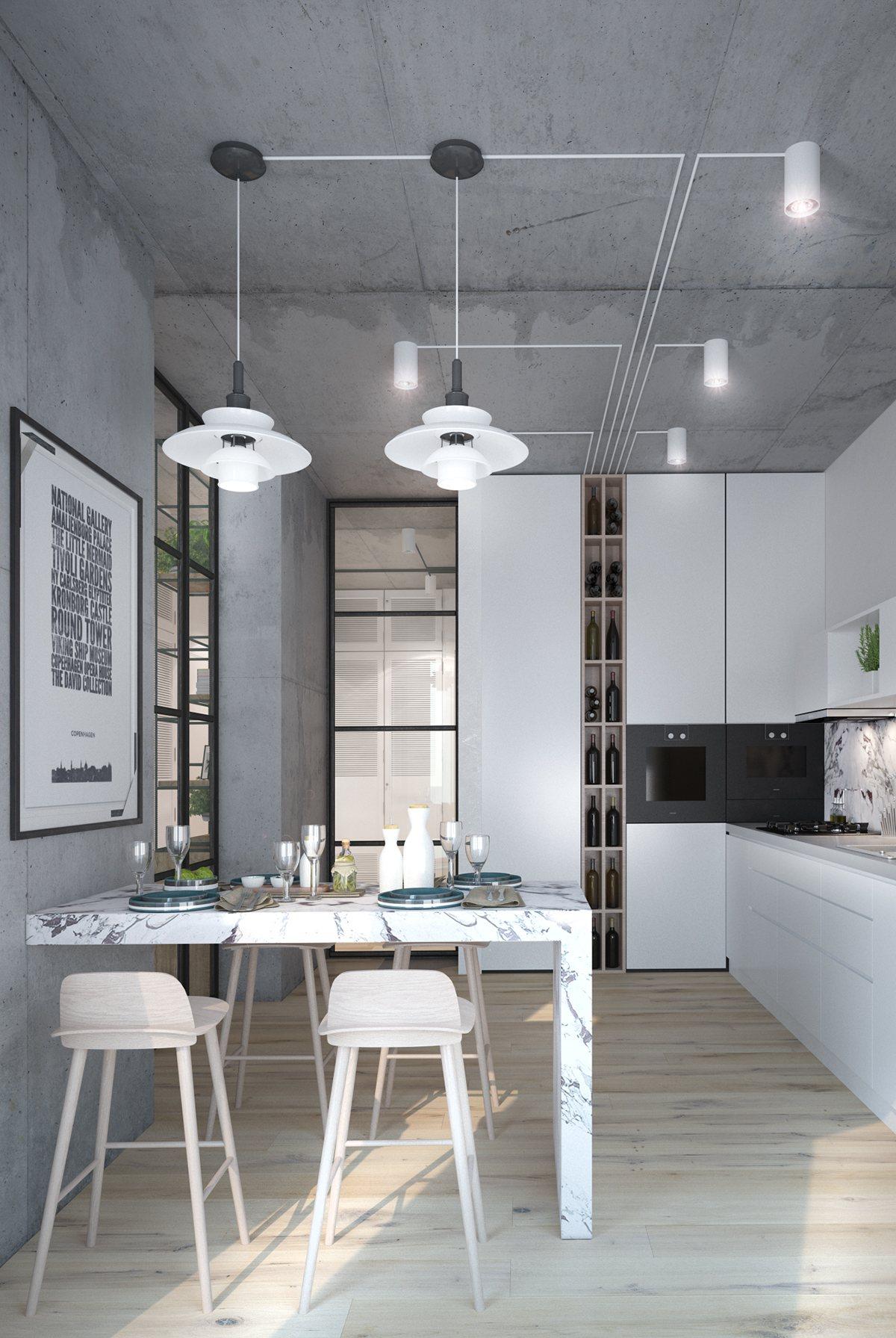 бетонни тавани