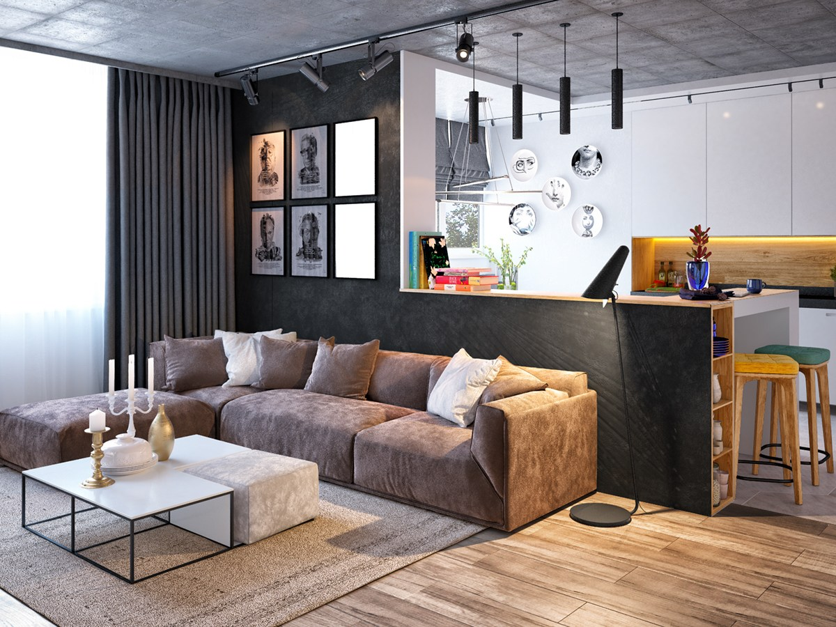 neutral-concrete-and-wood-floor-apartment