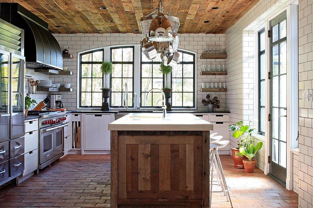 дърво в кухнята