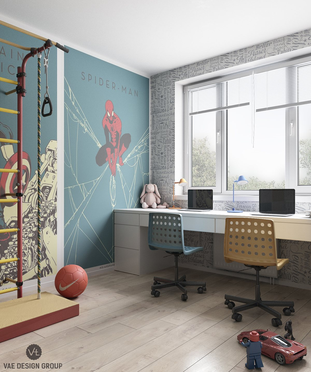 superhero-themed-kids-bedroom