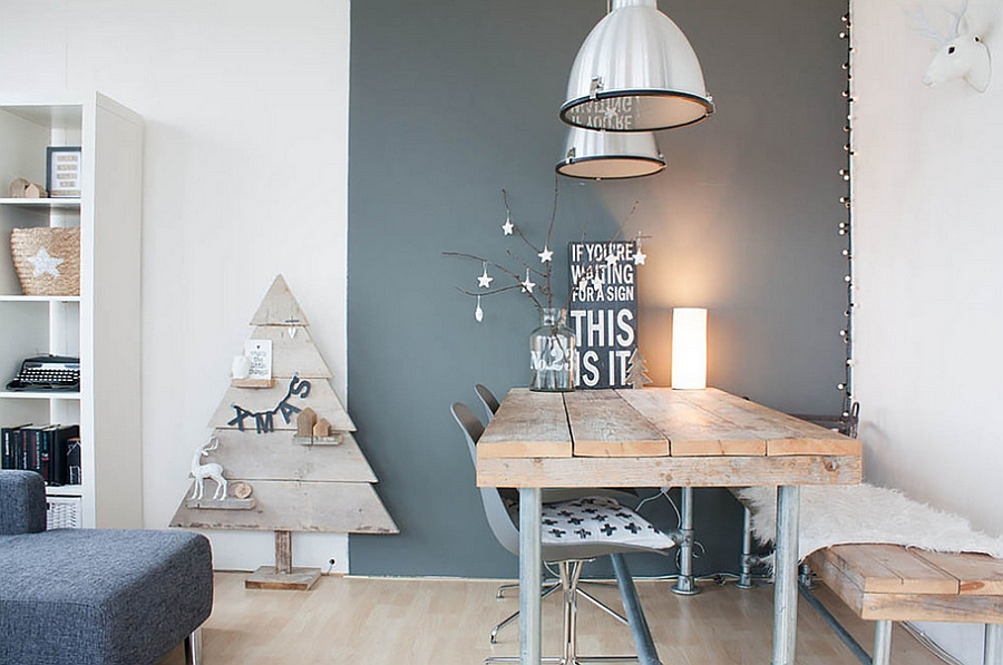 scandinavian-style-christmas-decor-for-the-contemporary-dining-room