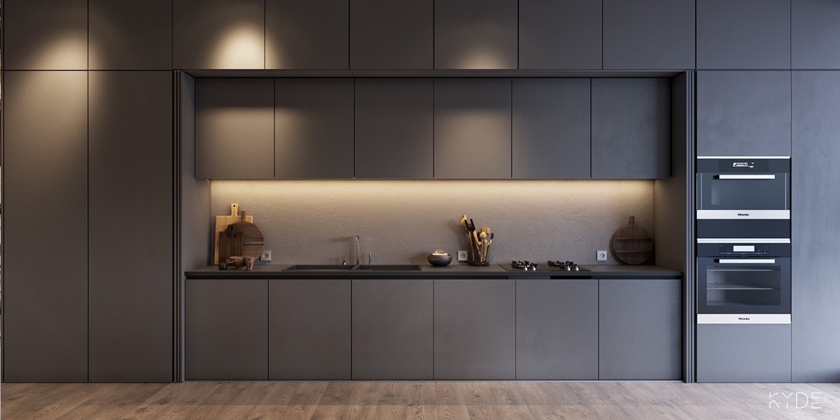 grey-panelled-kitchen-minimalist