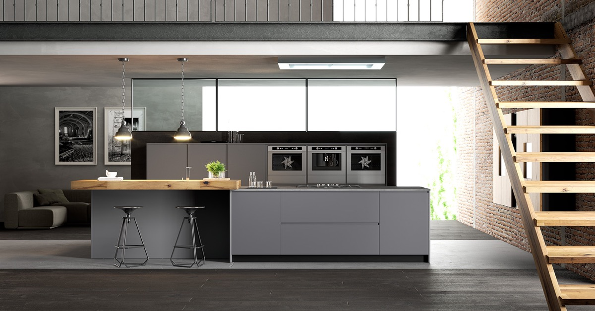low-ceiling-kitchen-charcoal-and-light-grey