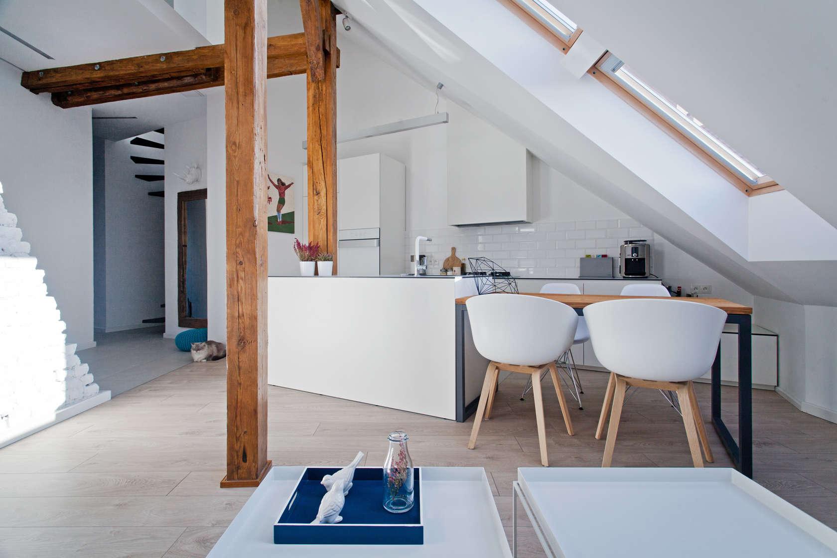 мансарден апартамент