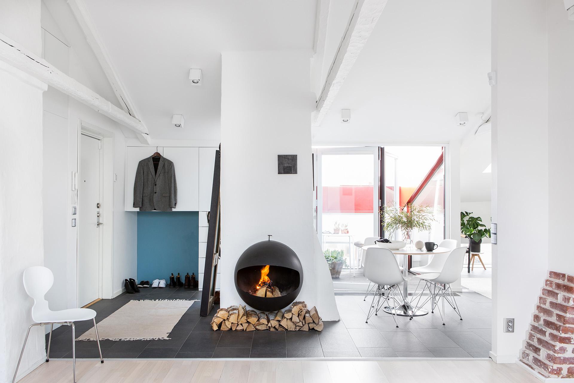 вълшебен мансарден апартамент