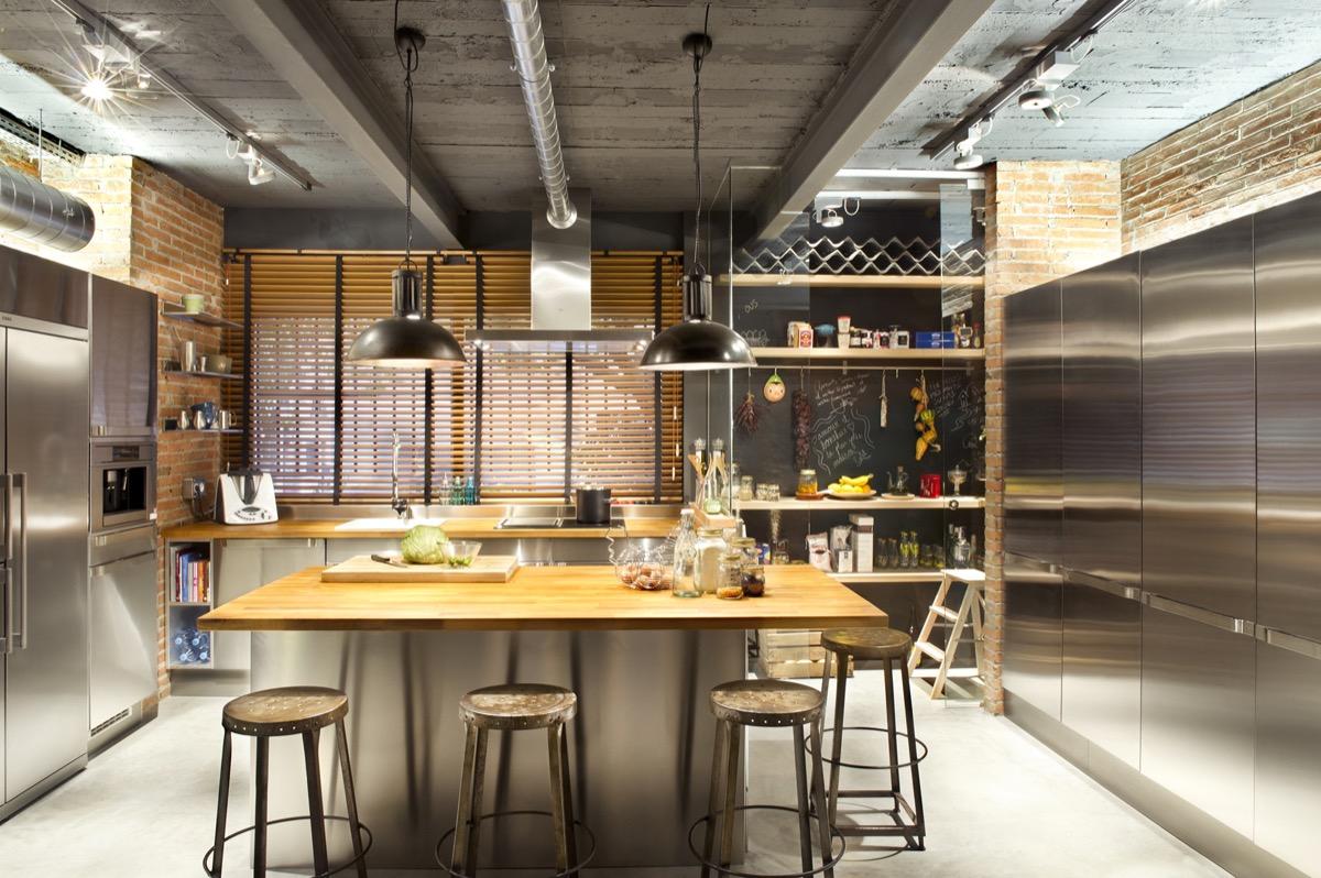 kухни в индустриален стил